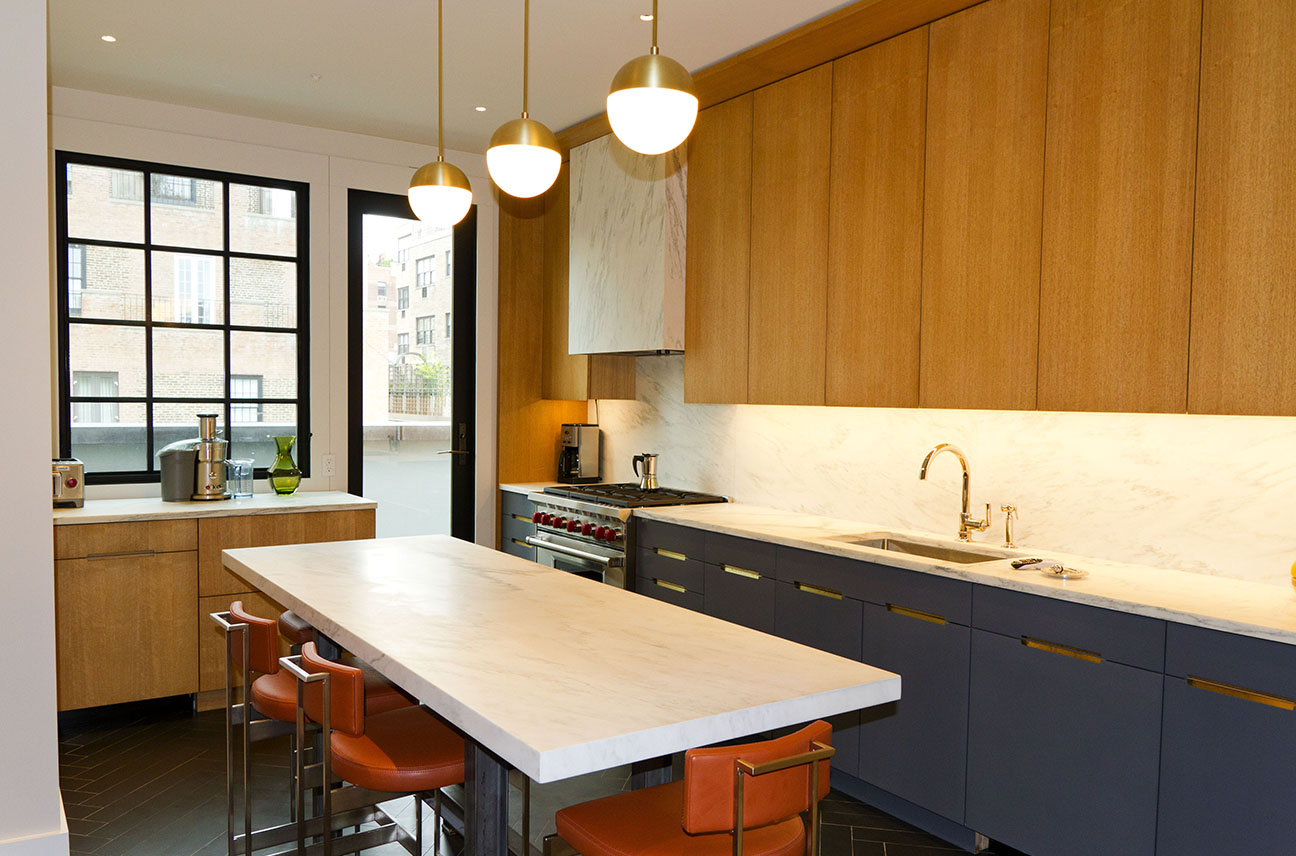 NYC Residential Construction: East Side Penthouse / North